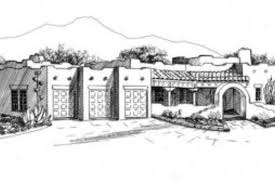 southwest style house plans adobe southwestern style house plan 2 beds 3 00 baths 2500 sq