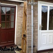 Exterior Back Doors Admirable Exterior Back Doors Back Door To Garage Sw Quietude