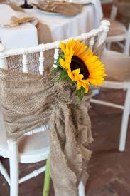 sunflower wedding decorations 8 awesome and easy ways to decorate wedding chairs