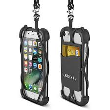 necklace holder case images 2 in 1 cell phone lanyard strap case universal smartphone neck jpg