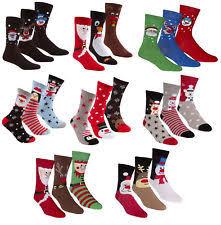 mens christmas socks novelty christmas multipack socks for men ebay