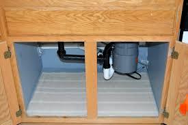 Under Kitchen Sink Cabinet Weekend Tweaks Kitchen Organizing Under The Sink Cabinet