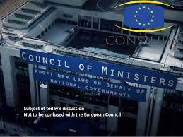 Council Of European Union History Council Of The European Union