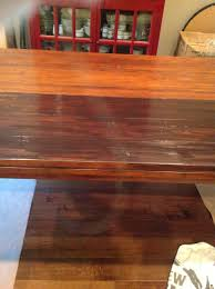 furniture painted your wood with java gel stain to get cool result
