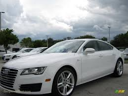 audi a7 for sale in florida 2012 audi a7 3 0t quattro premium in ibis white 017606 jax