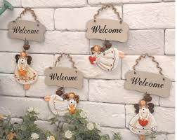 free shipping zakka retro decoration listed welcome card