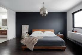 décoration chambre avec mur gris exemples d aménagements