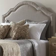 dictate royalty with upholstered headboard queen jitco furniture