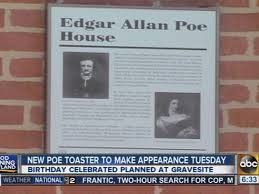 Poe Toaster Edgar Allan Poe Birthday Tradition Honored With New U0027poe Toaster