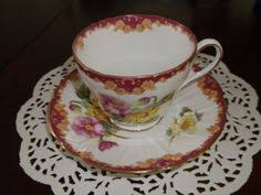 shelley england begonia fine bone china tea cup by whselection