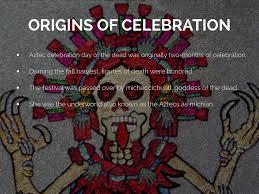 origin of día de los muertos by talorytairq