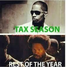 Jamie Meme - tax season memes