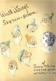 9781557092083 walt disney u0027s sketch book of snow white and the