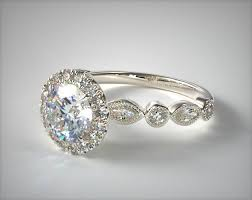 marquise halo engagement ring marquise and halo engagement ring platinum 17475p