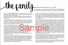 family proclamation the family proclamation prints and templates scripturemyblessing