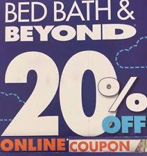 Bed Bath And Beyond Coupon Code Online Bed Bath And Beyond Gift Cards U0026 Coupons Ebay