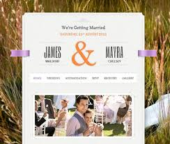 the best wedding websites stunning wedding themes
