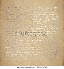 vintage old paper texture silver ink stock vector 687090748