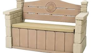 Build Outdoor Storage Bench Plans by Deck Storage Bench Benches Waterproof Outdoor Storage Bench Diy