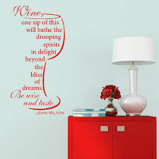 quote wall stickers uk wine quote wall sticker