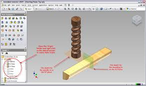 autodesk inventor tip how to start your sketches on the right plane