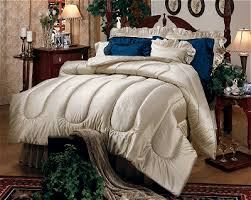 Satin Bedding Custom Bedding Luxurious Satin Comforter At The Trendy Bed