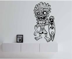 Tiki Surfer Hawaii Vinyl Wall Decal Sticker Art Decor Bedroom - Design wall decal