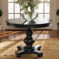 interesting tables pedestal end table wood surprising interesting brynmore black