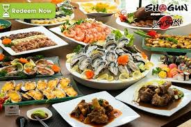 groupon cuisine saisaki shogun buffet groupon discount voucher freebies land