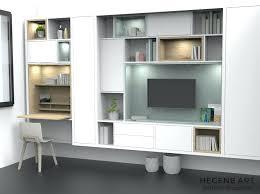 bureau bibliothèque intégré meuble bureau bibliotheque bureau bibliothaque newark la redoute