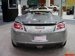 saturn sky coupe arizona international auto show 2007 photo gallery generation