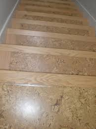 Laminate Floor Stair Nosing Cork Flooring Stairs Home Design