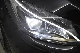 mercedes c class headlights used 2015 mercedes benz c class c200 bluetec amg line 4dr led