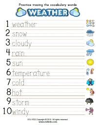 time and weather activities games and worksheets for kids