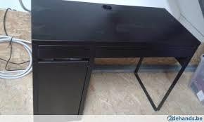 bureau micke ikea bureau micke ikea zwart bruin te koop 2dehands be