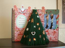 gone crafting altered book 3d christmas