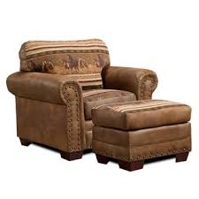 Living Room Chair And Ottoman by Southwestern Living Room Chairs Shop The Best Deals For Oct 2017