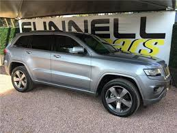 grey jeep grand cherokee 2016 2016 jeep grand cherokee 3 0 crd overland at grey with 55000km