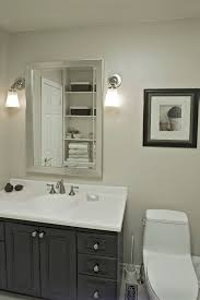 bathroom mirrors and lighting ideas bathroom recessed lighting ideas white wooden cabinet embedded in