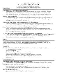 Sorority Recruitment Resume Good Job Qualifications Put Resume Examples Of Mla Essay Format