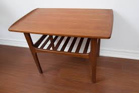danish teak coffee table scandinavian mid century modern teak
