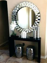 hallway table and mirror sets round hallway table mirror hallway table and mirror sets home