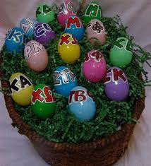 personalized easter eggs make sororority gifts easter eggs for big