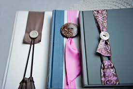 ribbon bookmarks nifty ribbon button no slip bookmark fab you bliss