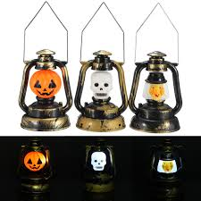 Witch Home Decor 2015 Fashion Design Pumpkin Skull Witch Pvc Plastic Hand Lamp