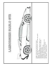 coloring pages coloring lamborghini coloring pages of