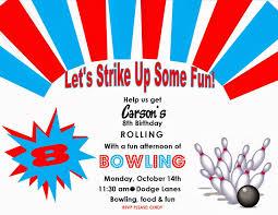 14th birthday party invitations bowling birthday party invitations u2013 gangcraft net