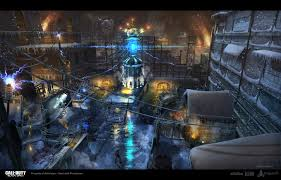 Cod Black Ops Maps Artstation Call Of Duty Zombies The Giant Concept Daniel Cheng