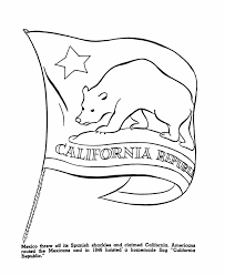 usa printables the republic of california us history coloring pages