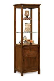 Curio Cabinet Furniture 176 Best Amish Curio Cabinets Images On Pinterest Curio Cabinets